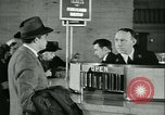 Image of 1940s passenger railroad train operations and personnel United States USA, 1948, second 24 stock footage video 65675073411