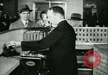 Image of 1940s passenger railroad train operations and personnel United States USA, 1948, second 25 stock footage video 65675073411