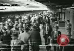 Image of 1940s passenger railroad train operations and personnel United States USA, 1948, second 30 stock footage video 65675073411