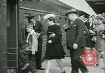 Image of 1940s passenger railroad train operations and personnel United States USA, 1948, second 31 stock footage video 65675073411