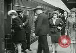 Image of 1940s passenger railroad train operations and personnel United States USA, 1948, second 32 stock footage video 65675073411