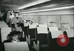 Image of 1940s passenger railroad train operations and personnel United States USA, 1948, second 33 stock footage video 65675073411