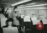 Image of 1940s passenger railroad train operations and personnel United States USA, 1948, second 35 stock footage video 65675073411