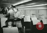 Image of 1940s passenger railroad train operations and personnel United States USA, 1948, second 36 stock footage video 65675073411