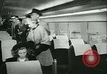 Image of 1940s passenger railroad train operations and personnel United States USA, 1948, second 37 stock footage video 65675073411