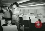 Image of 1940s passenger railroad train operations and personnel United States USA, 1948, second 38 stock footage video 65675073411