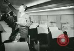 Image of 1940s passenger railroad train operations and personnel United States USA, 1948, second 39 stock footage video 65675073411