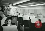 Image of 1940s passenger railroad train operations and personnel United States USA, 1948, second 40 stock footage video 65675073411