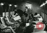 Image of 1940s passenger railroad train operations and personnel United States USA, 1948, second 42 stock footage video 65675073411