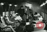 Image of 1940s passenger railroad train operations and personnel United States USA, 1948, second 43 stock footage video 65675073411