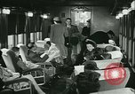 Image of 1940s passenger railroad train operations and personnel United States USA, 1948, second 45 stock footage video 65675073411