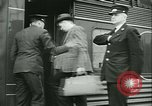 Image of 1940s passenger railroad train operations and personnel United States USA, 1948, second 53 stock footage video 65675073411