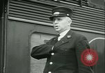Image of 1940s passenger railroad train operations and personnel United States USA, 1948, second 57 stock footage video 65675073411