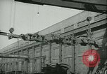 Image of Raymond Loewy T1 locomotive building and testing Altoona Pennsylvania USA, 1948, second 12 stock footage video 65675073413