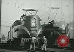 Image of railroad maintenance United States USA, 1948, second 27 stock footage video 65675073414