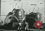 Image of railroad maintenance United States USA, 1948, second 29 stock footage video 65675073414