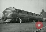 Image of railroad maintenance United States USA, 1948, second 34 stock footage video 65675073414