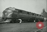 Image of railroad maintenance United States USA, 1948, second 36 stock footage video 65675073414