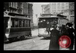 Image of New York City street scene early 1900s New York City USA, 1903, second 9 stock footage video 65675073418