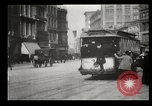 Image of New York City street scene early 1900s New York City USA, 1903, second 25 stock footage video 65675073418