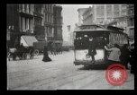 Image of New York City street scene early 1900s New York City USA, 1903, second 28 stock footage video 65675073418