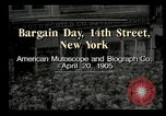 Image of Shoppers New York City USA, 1905, second 3 stock footage video 65675073420