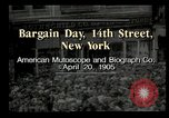 Image of Shoppers New York City USA, 1905, second 8 stock footage video 65675073420