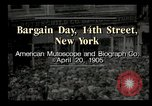 Image of Shoppers New York City USA, 1905, second 10 stock footage video 65675073420