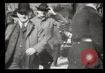 Image of pedestrians New York United States USA, 1903, second 15 stock footage video 65675073423