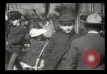 Image of pedestrians New York United States USA, 1903, second 30 stock footage video 65675073423