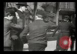 Image of pedestrians New York United States USA, 1903, second 37 stock footage video 65675073423