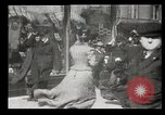 Image of pedestrians New York United States USA, 1903, second 44 stock footage video 65675073423