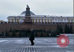 Image of Red Square Moscow Russia Soviet Union, 1970, second 17 stock footage video 65675073438