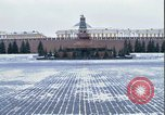 Image of Red Square Moscow Russia Soviet Union, 1970, second 32 stock footage video 65675073438