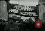 Image of Lenin Moscow Russia Soviet Union, 1924, second 60 stock footage video 65675073453