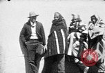 Image of buffalo dance by San Ildefonso Pueblo Tewa Native American Indians San Ildefonso Pueblo New Mexico USA, 1929, second 22 stock footage video 65675073458
