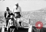 Image of buffalo dance by San Ildefonso Pueblo Tewa Native American Indians San Ildefonso Pueblo New Mexico USA, 1929, second 51 stock footage video 65675073458