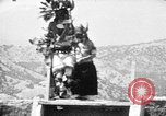 Image of buffalo dance by San Ildefonso Pueblo Tewa Native American Indians San Ildefonso Pueblo New Mexico USA, 1929, second 59 stock footage video 65675073458