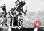Image of buffalo dance by San Ildefonso Pueblo Tewa Native American Indians San Ildefonso Pueblo New Mexico USA, 1929, second 60 stock footage video 65675073458