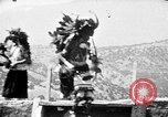 Image of buffalo dance by San Ildefonso Pueblo Tewa Native American Indians San Ildefonso Pueblo New Mexico USA, 1929, second 61 stock footage video 65675073458