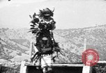 Image of buffalo dance by San Ildefonso Pueblo Tewa Native American Indians San Ildefonso Pueblo New Mexico USA, 1929, second 62 stock footage video 65675073458