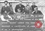 Image of film inventors United States USA, 1894, second 18 stock footage video 65675073461