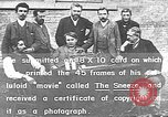 Image of film inventors United States USA, 1894, second 24 stock footage video 65675073461