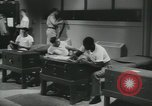 Image of Company E 1st Training Regiment trainees Fort Dix New Jersey USA, 1955, second 52 stock footage video 65675073545