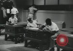 Image of Company E 1st Training Regiment trainees Fort Dix New Jersey USA, 1955, second 53 stock footage video 65675073545