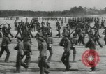Image of Training new American soldier recruits United States USA, 1941, second 15 stock footage video 65675073570