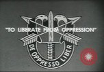 Image of Special Forces soldiers United States USA, 1955, second 12 stock footage video 65675073601