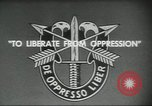 Image of Special Forces soldiers United States USA, 1955, second 13 stock footage video 65675073601