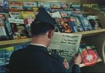 Image of Stars and Stripes newspaper Darmstadt Germany, 1975, second 31 stock footage video 65675073616
