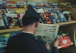 Image of Stars and Stripes newspaper Darmstadt Germany, 1975, second 34 stock footage video 65675073616